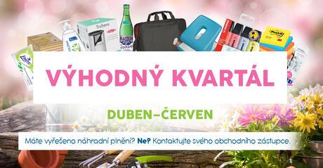 Výhodný kvartál DUBEN-ČERVEN 2021