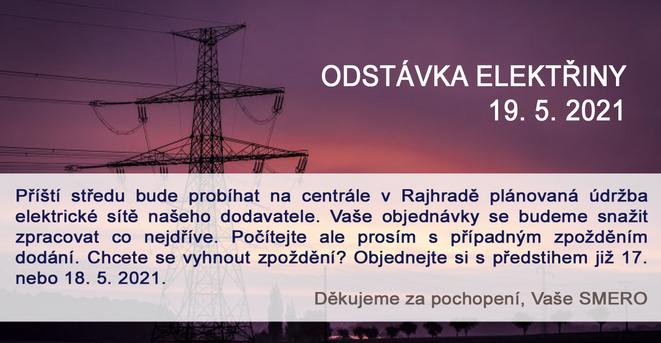 Odstávka elektřiny