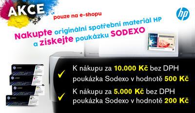 Akce HP poukázky SODEXO