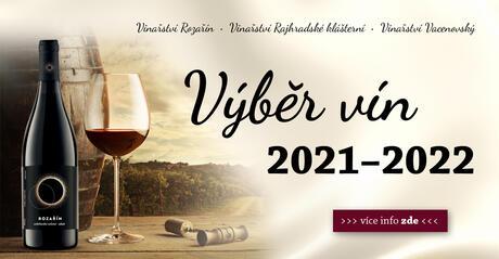 Výběr vín 2021/2022