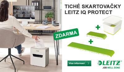 Akce Leitz IQ Protect box